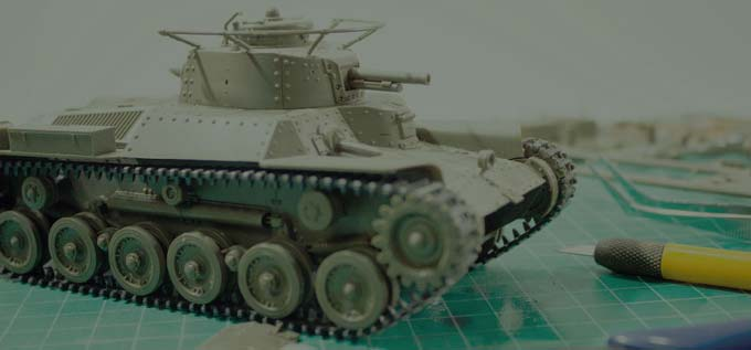 tanks-scale-models